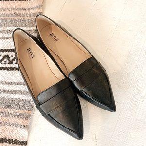 A.n.a. Black Glen Pointed Women's Ballet Flats